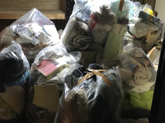 女性 ゴミ屋敷 ブログ02