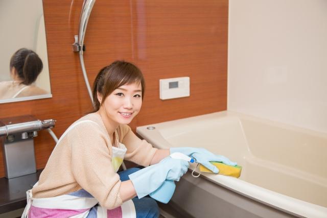 浴室 掃除 ブログ05