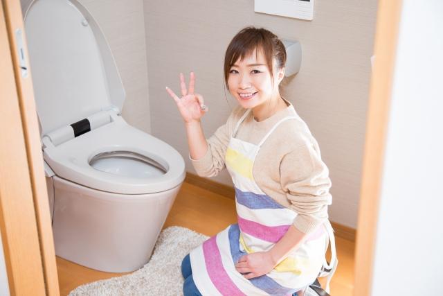 年末 トイレ 浴室 掃除 ブログ05