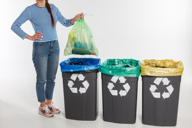ゴミ屋敷 ゴミ 分別 ブログ01